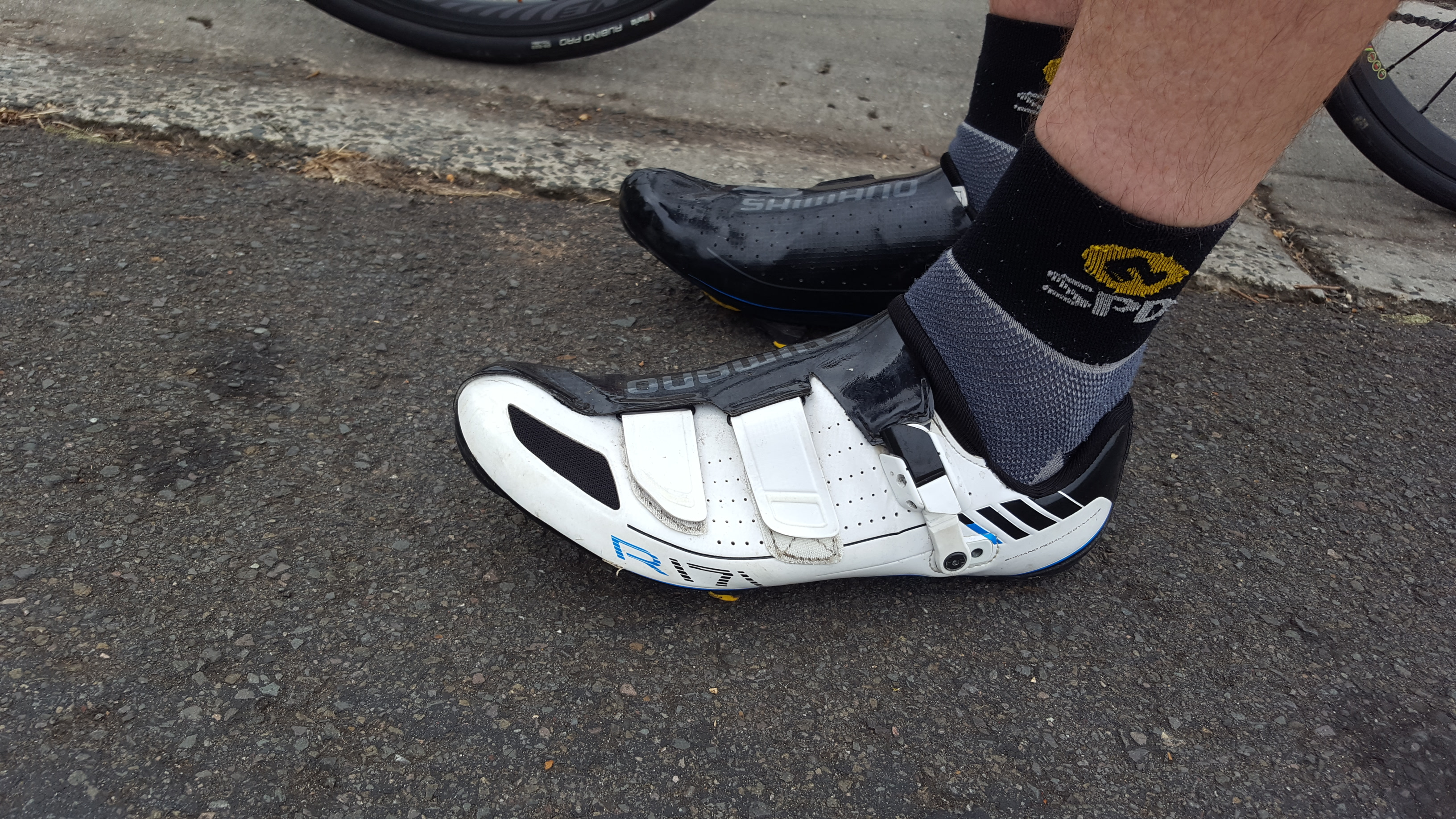 2000km on: Shimano R171 road shoes